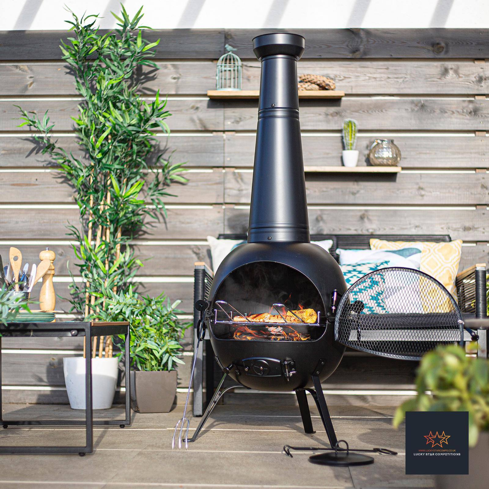 Entry List - Win This Amazing Chimenea BBQ Bundle with Accessories